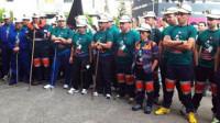 Comienza la marcha negra de los mineros hacia Madrid