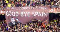 Esperanza Aguirre pide una final en el Vicente Calderón a puerta cerrada por las protestas nacionalistas
