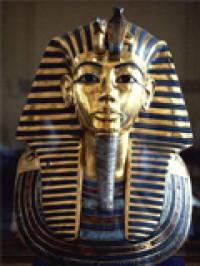 Daños en la máscara de Tutankamón