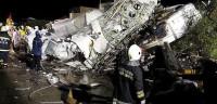 Un accidente de avión en Taiwán deja 47 muertos