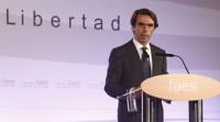 Aznar: El proyecto de convivencia español no necesita enmiendas a la totalidad