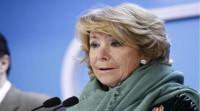 Aguirre se pone a disposición de Rajoy para la Alcaldía de Madrid