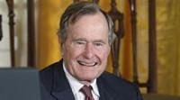 El expresidente estadounidense George H.W Bush, hospitalizado por insuficiencia respiratoria
