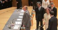 El Rey ofrece su apoyo a los jueces para defender la Constitución