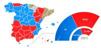 El PP se deja 2,5 millones de votos y retrocede a niveles de 1991