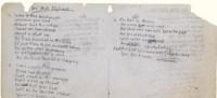 La letra de 'Like a Rolling Stone', de Bob Dylan, vendida por 2 millones de dólares