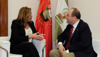 Susana Díaz e Iceta defienden la Declaración de Granada y la necesidad de unidad