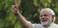 Modi toma posesión como primer ministro indio
