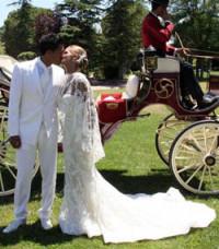 Tamara Gorro y Ezequiel Garay se casan en una emotiva ceremonia