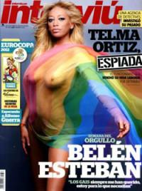 Belén Esteban abandera el orgullo gay en Interviú