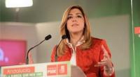 Susana Díaz comunica a IU el adelanto electoral en Andalucía
