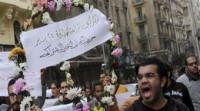 18 muertos en las protestas por el aniversario de la revolución en Egipto