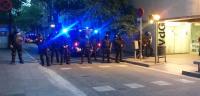 Once heridos en la tercera noche de disturbios en Gràcia