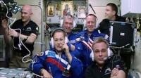 Tres nuevos astronautas llegan a la Estación Espacial