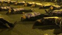 Una marcha de luto pide que la violencia machista sea