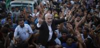 Gaza celebra el alto el fuego con Israel