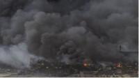 El fuego de Chiloeches tardará días en apagarse pero no peligra el núcleo urbano