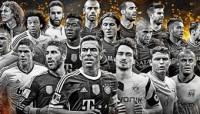 Ramos, Piqué, Carvajal y Alba, nominados al FIFPro 2014