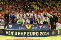 España, bronce; Francia, oro; Dinamarca, plata