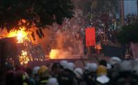 Siete heridos y 24 detenidos por enfrentamientos en Brasil durante el partido