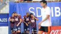 La Real se redime en El Sadar y el Valencia cae en Ipurua