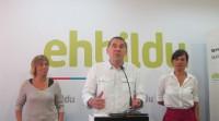 Otegi propone a PNV y Podemos diálogo para lograr un