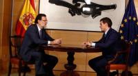 Rajoy y Rivera analizan en Moncloa la situación en Cataluña
