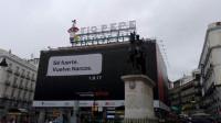 Un nuevo anuncio de la serie 'Narcos' en la Puerta del Sol vuelve a generar polémica