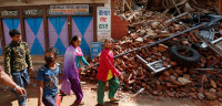 Las ONG piden más efectivos en las zonas más alejadas de Katmandú