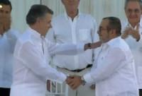 La trascendental firma del acuerdo de paz en Colombia
