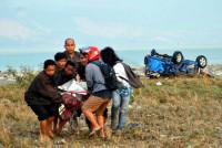 Las ONG se ven desbordadas tras el terremoto en Indonesia