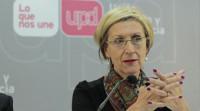 Rosa Díez recuerda que la dirección fue votada por la mayoría de los afiliados