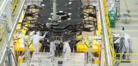 El telescopio James Webb toma forma en un hangar de la NASA