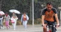Lluvias, tormentas y altas temperaturas para acabar las vacaciones