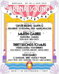 Thirty Seconds To Mars, Don Diablo y Lola Índigo, entre las nuevas confirmaciones de Arenal Sound 2019