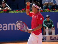 Kei Nishikori  es el nuevo campeón en Barcelona  (6-2, 6-2)