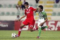 El Betis deja buenas sensaciones ante el Benfica (1-1)