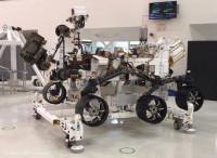 Un vistazo de cerca al vehículo explorador de NASA para Marte