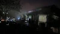Más de 70 bomberos sofocan un incendio en el Zoo de Londres