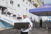 Costa Cruceros ofrece más de 70.000 raciones alimentarias