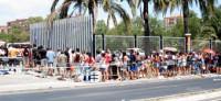 Más 10.000 personas acuden al casting de 'Exodus'