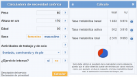 La Calculadora de necesidad calórica, una herramienta indispensable
