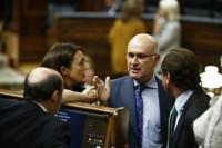 PP y PSOE suspenden la reunión para la cumbre europea por el plante de CiU
