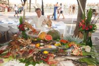 En el Paseo Marítimo de Marbella, Restaurante Santiago