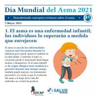 Las falsas creencias dificultan el control del asma en niños y adolescentes