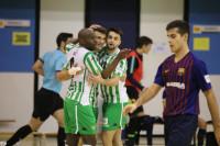 Manita del Betis FS al Barça B (5-1)