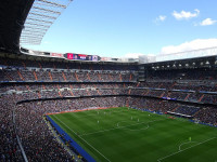 Exhibición de De Jong en el Bernabéu