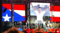 Marc Anthony cerró su gira en España con un concierto en Málaga ante 11.000 espectadores