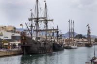 Dos históricos veleros de época vuelven a hacer 'Escala a Castelló