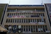 Los Antidisturbios desalojan la sede de la televisión pública griega